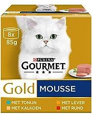 Gourmet Gold Mousse Kattenvoer Nat