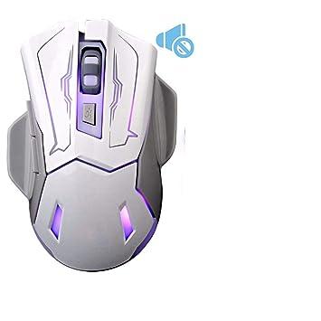 MC-xy Silencioso Mute Carga inalámbrica Mouse computadora portátil Esports sin luz Ahorro de energía