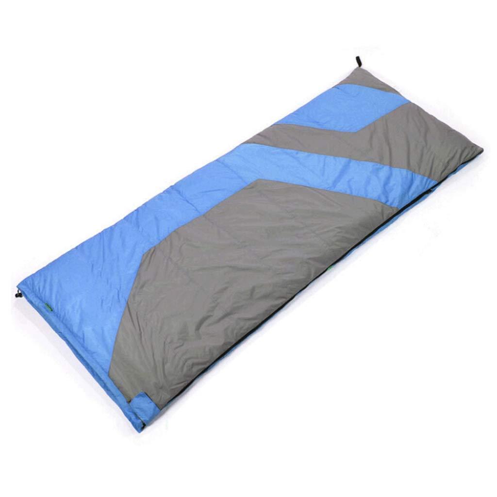 屋外封筒タイプ超軽量寝袋 - ステッチングダブルランチブレイクキャンプ秋と冬 (色 : 2#) B07GZ5GR7Y 1#  1#