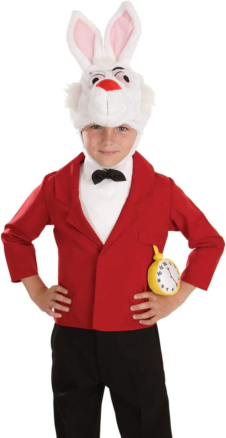 Fun Shack Rojo Conejo Blanco Disfraz para Niños - XL: Amazon.es ...