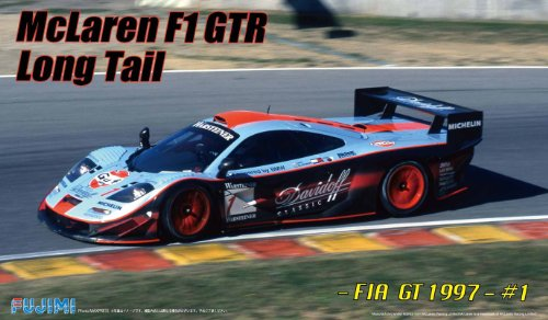 1/24 Real Sports Car Series No.95 McLaren F1 GTR long tail 1997 FIA GT Championship # 1 by Fujimi