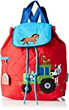 quilted backpack diaper bag - Stephen Joseph Quilted Backpack, Boy Farm