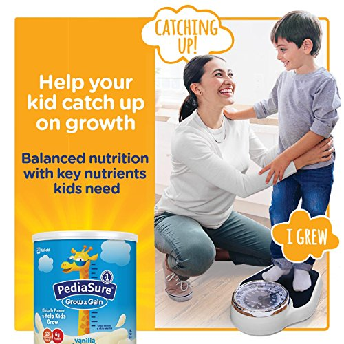 PediaSure Grow & Gain Non-GMO Vanilla Shake Mix Powder, Nutrition Shake for Kids, 14.1 oz, 3 Count by Pediasure (Image #2)