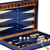 Bello Games Collezioni - Giovanni Luxury Wooden Backgammon Set from Italy 26'