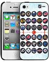 NHL Iphone 4/4s Hard Cover Case-30 Teams