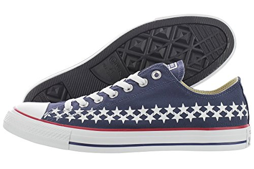 Converse Ctas Ox Low Navy Sneaker Navy / Red / White