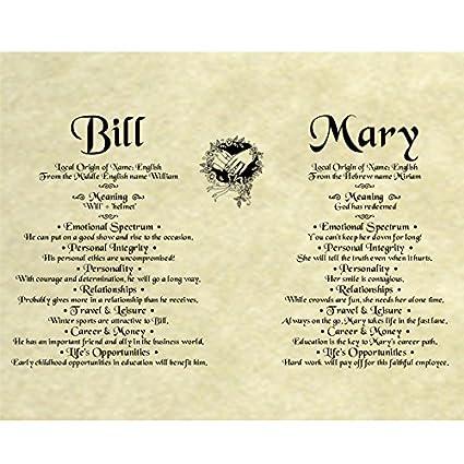 Amazon Personalized 85x11 Antique Parchment Paper Wedding