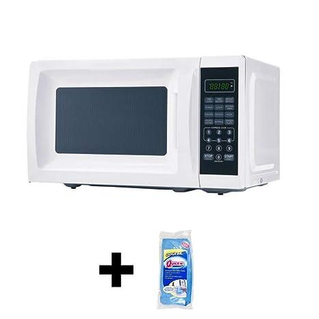 Amazon.com: Mainstays 700 W salida horno microondas + ...