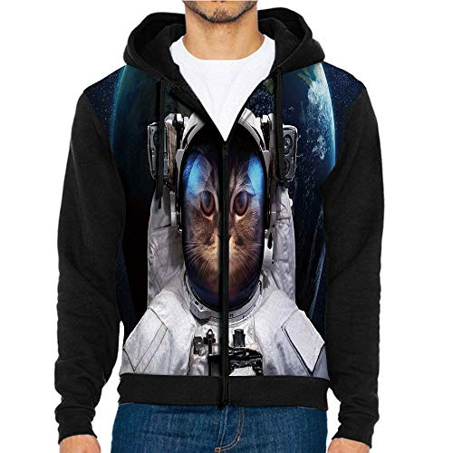 - 3D Printed Hoodie Sweatshirts,Planet Earth Backdrop in,Hoodie Casual Pocket Sweatshirt