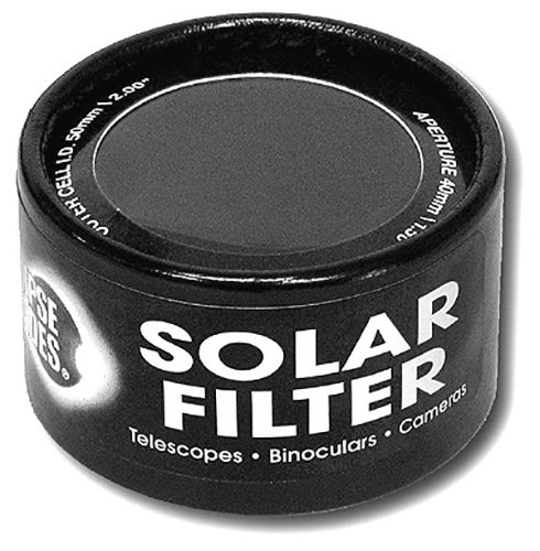 Rainbow Symphony Solar Filter 50mm Black Polymer by Rainbow Symphony