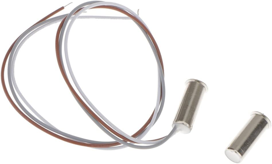Sensor de contacto para puerta de ventana empotrable con alarma de ladrillo magn/ética Sourcingmap a18051500ux0007