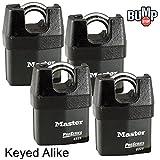 Master Padlock - High Security Locks 6325NKA-4 BUMP
