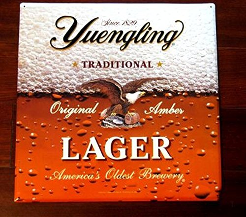 Yuengling Original Lager 16x16 Metal Sign - Old Design (Brewery Yuengling)