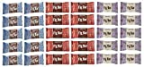 Nature's Bakery Fig Bar 100% Natural and Healthy Snack: 30 Twin Pack Bars Variety Pack Fig/raspberry/blueberry
