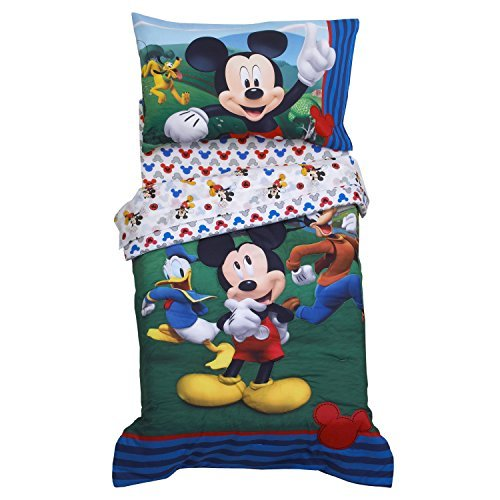 Franco Disney Mickey Mouse Bedding Set - Crib Lily Set Bedding