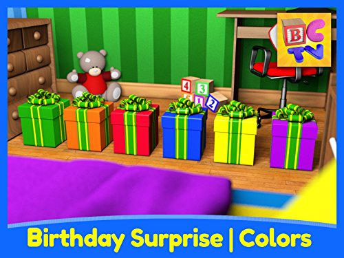 (Birthday Surprise - Learning Colors for Kids)
