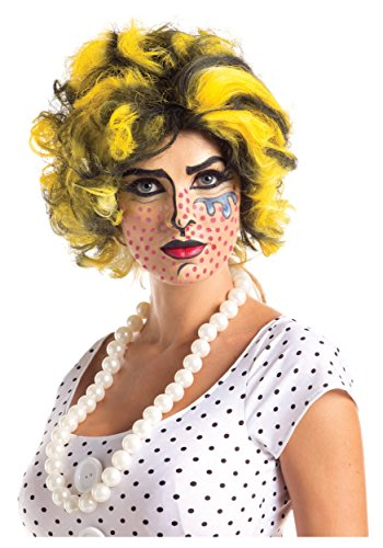 Pop Art Wig Standard