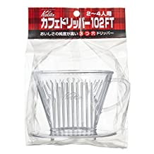 Home Cafe Kalita 102FT Hand Drip Coffee Dripper by luxury