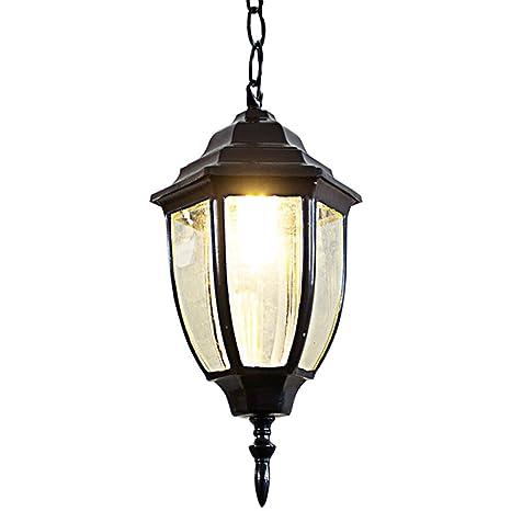 Amazoncom Cgjdzmd Outdoor Waterproof Metal Pendant Lamp Height