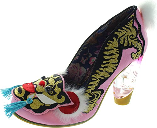 Irregular Choice Ruby Envelope, Scarpe col tacco donna rosa Pink