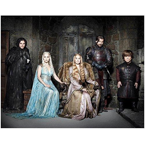 Game of Thrones (TV Series 2011 - ) 8 Inch x 10 Inch photo Cast in Front of Doors kn