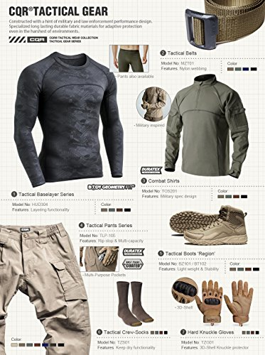 CQR-Mens-Tactical-Operator-Work-Pants-Lightweight-EDC-Assault-Cargo-TLP104-TWP301-TLP103