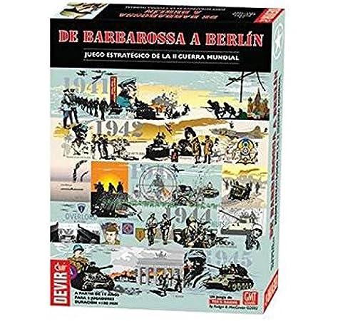 Outletdelocio. Devir BGBARBER. Juego de Mesa De Barbarossa a Berlin. Edicion en Castellano: Amazon.es: Juguetes y juegos