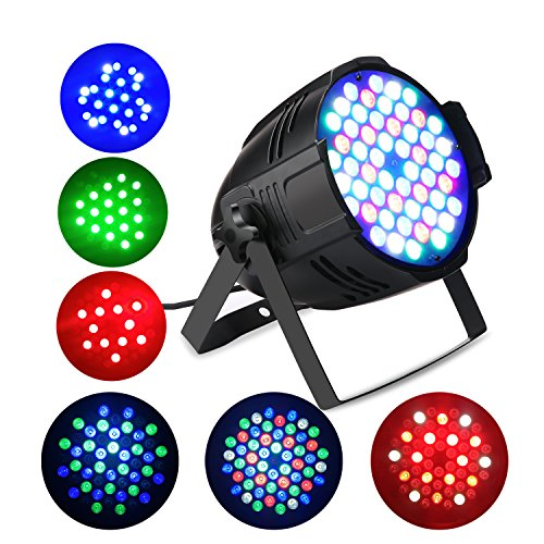 DJ Light with 150W RGBW Remote LED Stage Light for Night Club Wedding Birthday Christmas Party Show