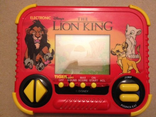 Disney's The Lion King Tiger Electronic Handheld Game 1994