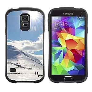 LASTONE PHONE CASE / Suave Silicona Caso Carcasa de Caucho Funda para Samsung Galaxy S5 SM-G900 / holmy sneg doroga solnce