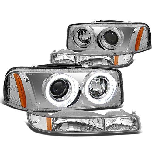 05 sierra headlight assembly - 2