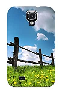 Galaxy S4 Case, Premium Protective Case With Awesome Look - Fence