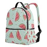 School Backpack Summer Watermelon Bookbag for Girls Boys College Bags Daypack