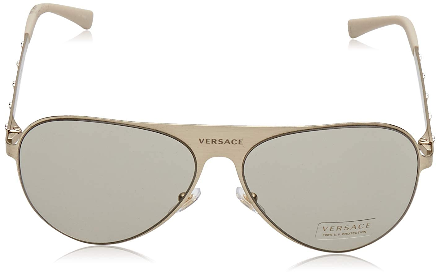 Amazon.com: Versace Unisex ve2189 anteojos de sol, 59mm ...