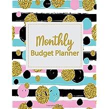 3: Monthly Budget Planner: Weekly Expense Tracker Bill Organizer Notebook Business Money Personal Finance Journal Planning Workbook size 8.5x11 Inches ... (Expense Tracker Budget Planner) (Volume 3)