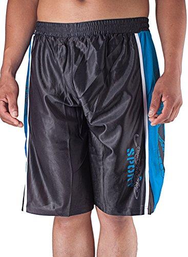 Ed Hardy Mens Snake Sweat Pants Shorts - Black - Medium