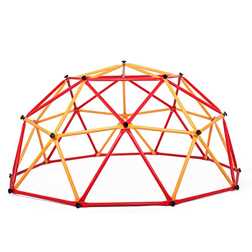 Monkey Bar Gym - neotheroad Dome Frame Climber Monkey Bars Play Center Outdoor Climbing Jungle Gym for Fun