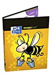 Oxford to Tarras Notebook Megatext 2017-2018 Wrapped Rigid 224 Pages 15 x 21 cm Bee Pattern
