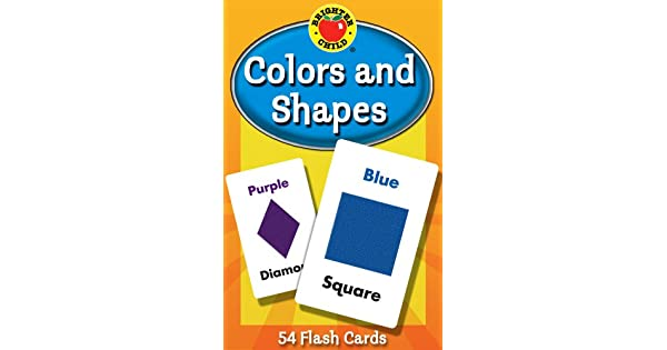 Amazon.com: Carson Dellosa - Colors and Shapes Flash Cards ...