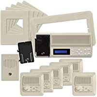 IST RETRO Music & Intercom System Package, Almond (RETRO-MV4PACA)