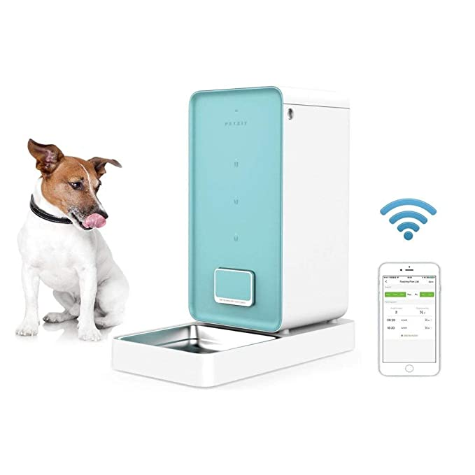 Amazon.com : Muzi Trade Pet Automatic Timing Feeder Smart ...