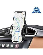 IZUKU Supporto Auto Smartphone 360 Gradi di Rotazione [Garanzia a Vita] Porta Cellulare Auto per telefoni iPhoneX/8/7/6, Samsung S9/8/7,Xiaomi,Huawei Honor e Dispositivi di Larghezza 5,3cm-9,5cm.
