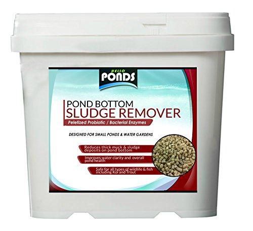 Pond Bacteria Sludge Pellets Koi Pond & Water Garden Muck Reducer (1 lb)