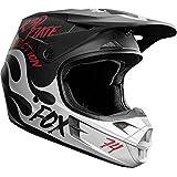 Fox Racing Rodka SE Men's V1 MX Motorcycle Helmets - Light Grey / Medium