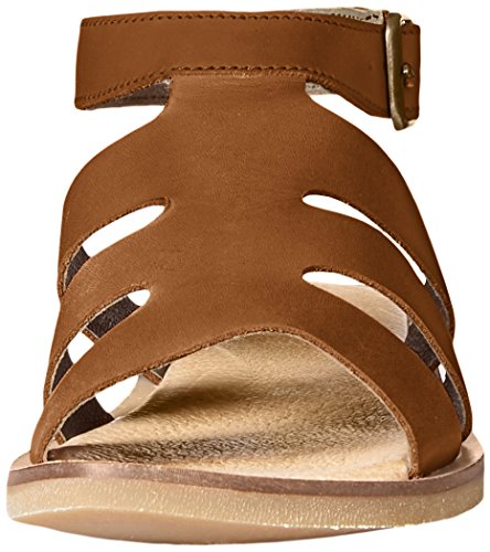 El Naturalista de la mujer NF34Tulip Flat Sandal Madera