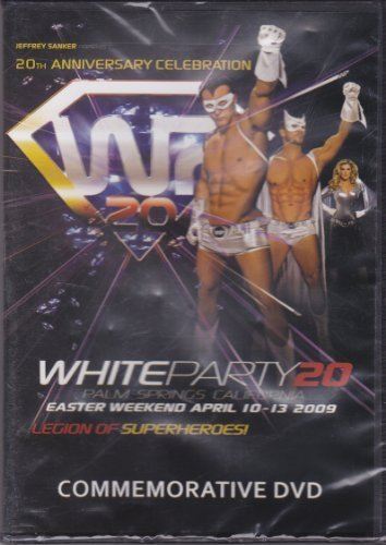 White Party Palm Springs 20 Year Anniversary Commemorative DVD -