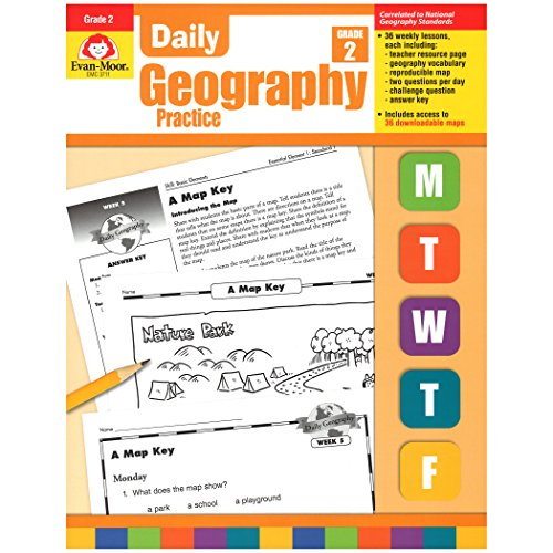 daily geography practice grade 2 - 4