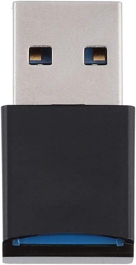 USB 3.0 Portable Card Reader,Mini USB3.0 to Micro Memory Card//TF Card Reader High Speed Memory Card Reader Adapter,Card Reader USB 3.0 High Speed CF Memory Card Adapter