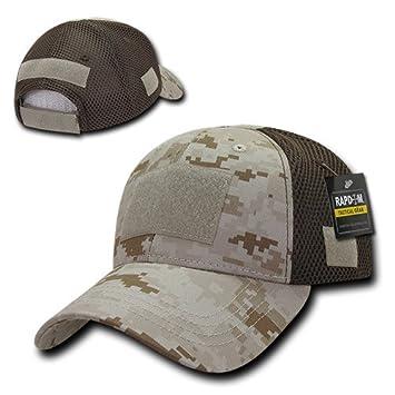 74e92b5601f80 Amazon.com   RAPDOM Tactical Low Crown Air Mesh Tactical Caps ...