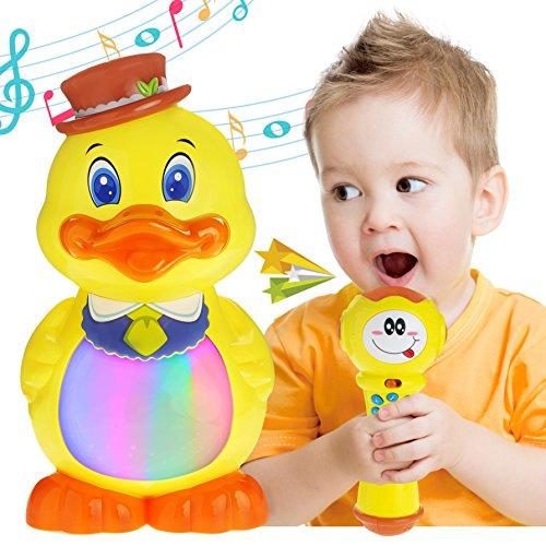 Toddlers Sing Along MP3 & USB Music Player, Karaoke Machi...